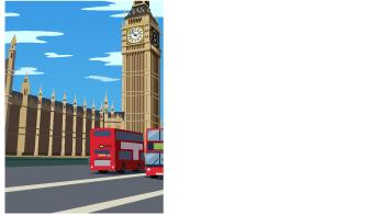 背景:ロンドンの街並