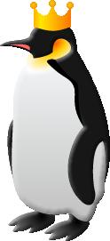 王冠ペンギン