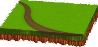 [新]小道のある新緑シート
