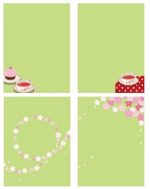 桜フレーム各種