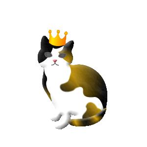 限定アイテム「王冠猫ピック ミケ