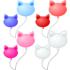 2つ猫の風船 4色セット