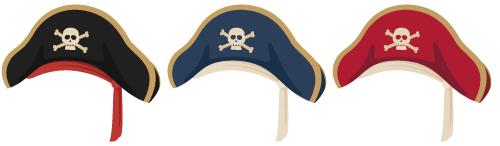海賊帽各種