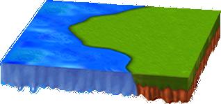 水辺のある新緑シートC