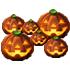 かぼちゃランプ 3種 6個