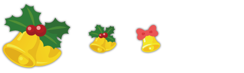 特大クリスマスベル、ミニクリスマスベル、クリスマスベル指輪
