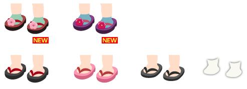 ぞうり足袋セットひすい・ぞうり足袋セットはなだ、ぞうり各種、足袋