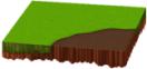 土のある新緑シート