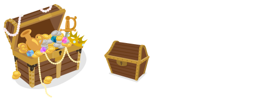 海賊船の宝箱・宝箱閉