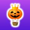 王冠かぼちゃ気球