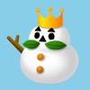 王冠雪だるまふとっちょ