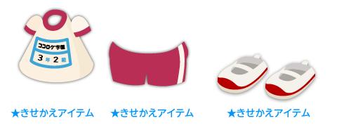 体操服上着赤・体操服短パン赤・上履き 赤
