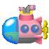 潜水艦 ピンク