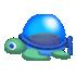 ウミガメ潜水艦 青