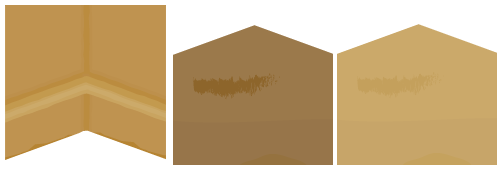 古代風の土壁・古代風の床チョコタン・古代風の床カーキ