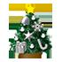クリスマスツリーB 銀