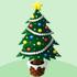 クリスマスツリーA