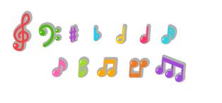 音符カラー各種