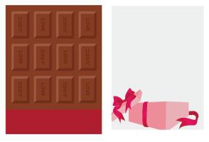 板チョコ カカオ・プレゼントBOXフレーム