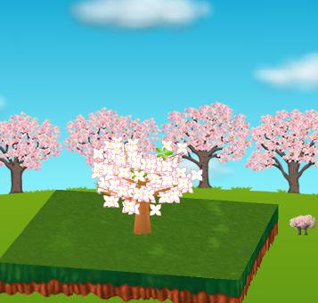 コイコイ桜並木 設置例