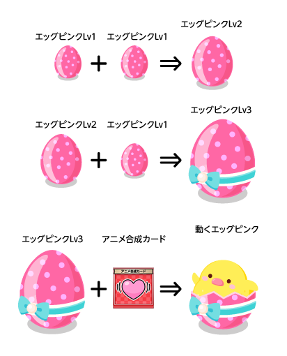 エッグピンクの説明