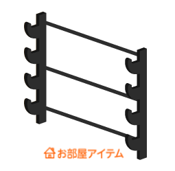 壁掛け刀台Lv1