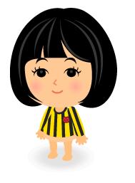 ストライプ黄黒Tシャツ