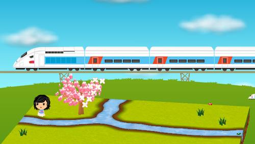 コイコイ高速鉄道設置例