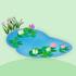 フランス画家の池A
