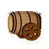 ワイン樽大砲