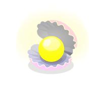 真珠貝ライトピンク