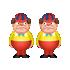 トゥイードルダム&トゥイードルディー人形