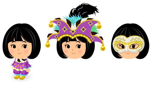 カーニバル衣装・カーニバル帽子・カーニバルマスク