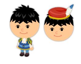 ロミオ衣装・ロミオ帽子