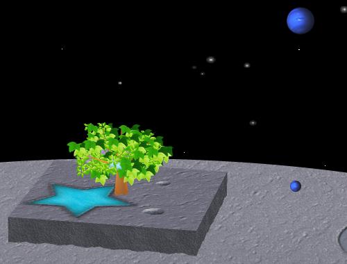 コイコイ太陽系 海王星 コーディネート例