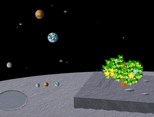 コイコイ太陽系 水星/金星/地球 コーディネート例