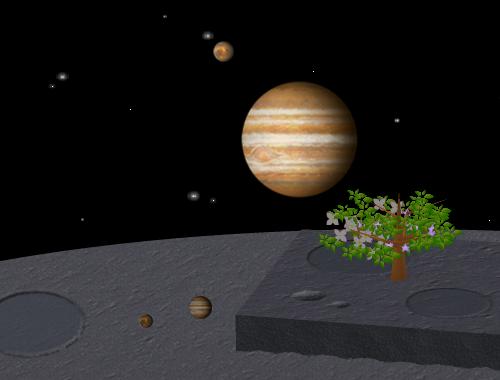 コイコイ太陽系 火星/木星 コーディネート例