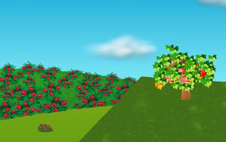 コイコイバラの庭園 左設置例