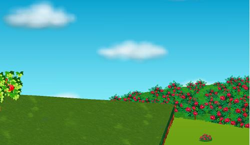 コイコイバラの庭園 右設置例