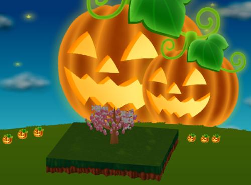 コイコイハロウィン中かぼちゃ 設置例