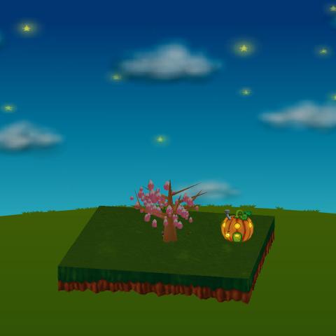かぼちゃハウス 設置例