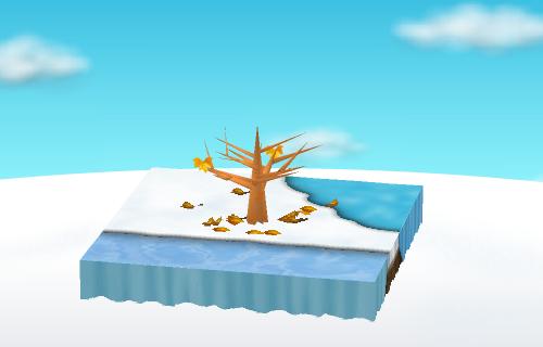 北欧クリスマスシートD 設置例