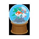 ドーム水槽金魚