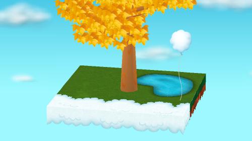 雲の風船 設置例