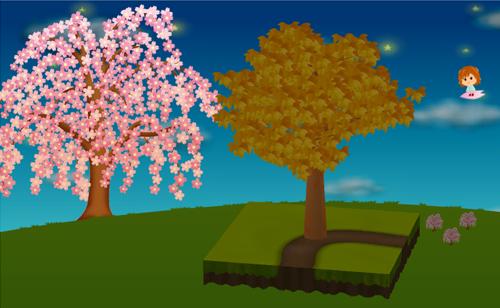 コイコイしだれ桜 設置例