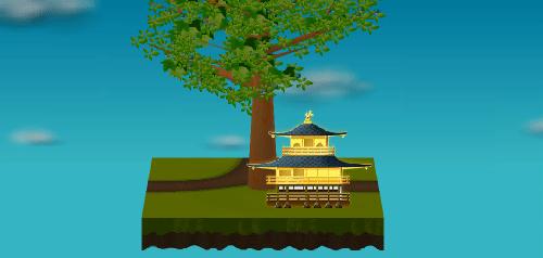 金閣寺 設置例
