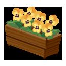 パンジープランター 黄