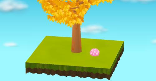 桜満開ブッシュ 大 設置例