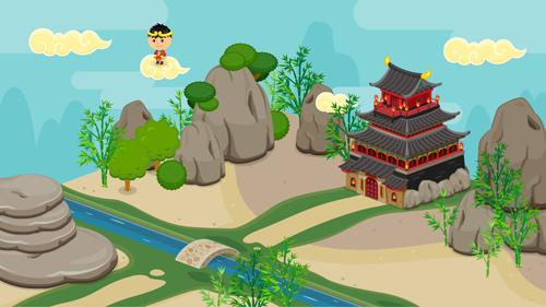 西遊記・中国・インド全体イメージ