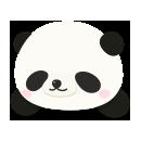 頭のせジャイアントパンダ